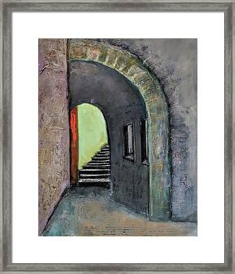 Alley Jaffa Framed Print