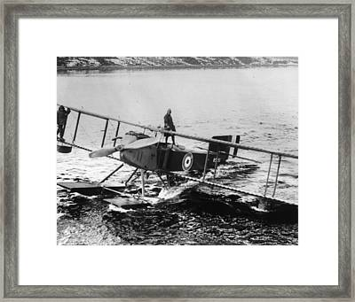 Allies At Murmansk Framed Print by Hulton Archive