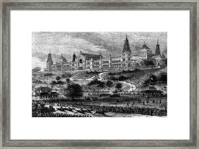 Ally Pally Racing Framed Print by Hulton Archive