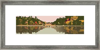 Aloft Framed Print by Marian Federspiel