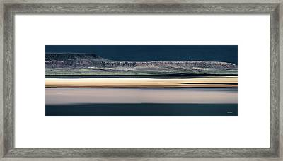 Alvord Panoramic 3 Framed Print by Leland D Howard