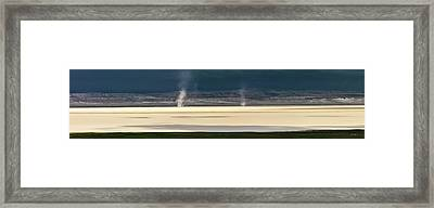 Alvord Panoramic 4 Framed Print by Leland D Howard