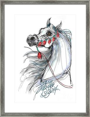 Always Equestrian Framed Print