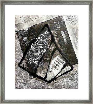Framed Print featuring the painting Amarok by 'REA' Gallery