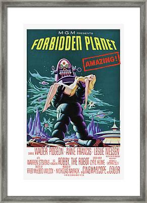 """Forbidden Planet Vt Poster 27/""""x40/"""""""