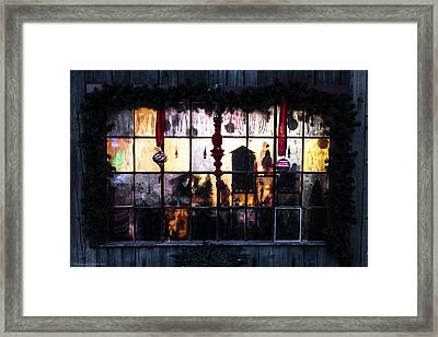 Framed Print featuring the photograph Ambiance Of Christmas  by Expressive Landscapes Fine Art Photography by Thom