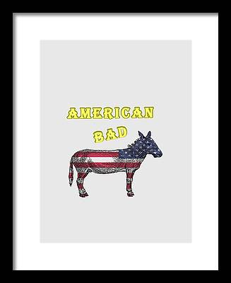 America Framed Prints