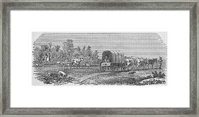 American Pioneers Framed Print by Kean Collection