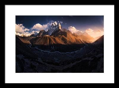 Nepal Framed Prints
