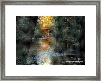 And Autumn Comes  Framed Print