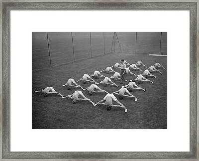 And Stretch Framed Print by Fox Photos