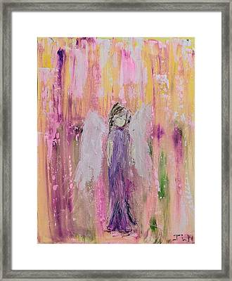 Angel In  Paradise Framed Print