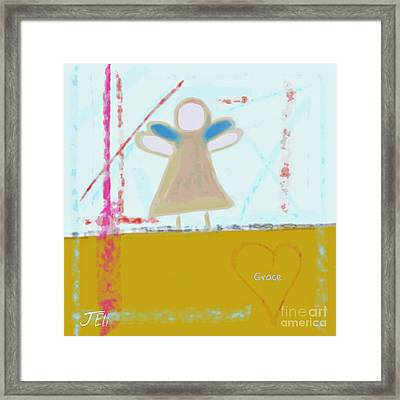 Angel Of Grace Framed Print