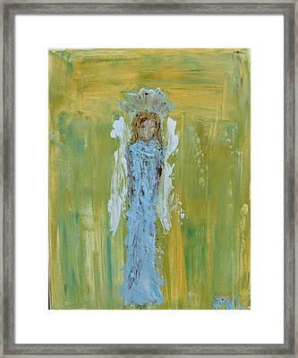 Angel Of Vision Framed Print