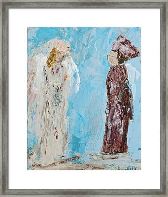 Angel Of Wisdom Framed Print