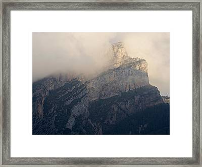 Framed Print featuring the photograph Anisclo Abstract by Stephen Taylor