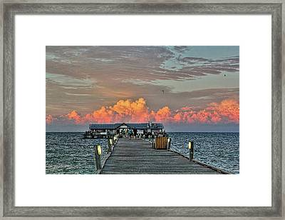 Anna Maria City Pier Framed Print