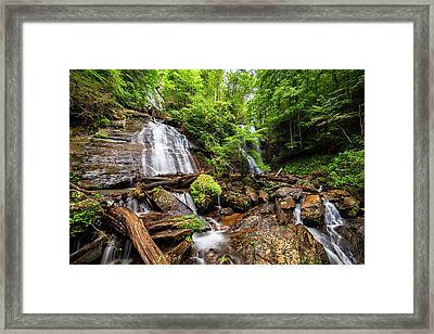 Framed Print featuring the photograph Anna Ruby Falls by Andy Crawford