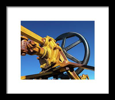Steel Construction Framed Prints