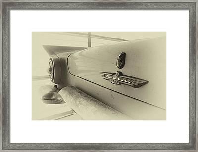 Antique Classic Car Vintage Effect Framed Print
