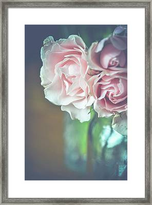 Framed Print featuring the photograph Antique Roses by Michelle Wermuth