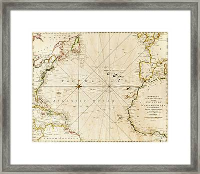 Antique World Map By Tetra Images