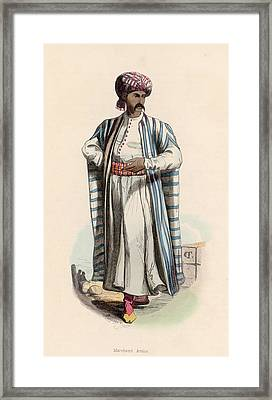 Arab Merchant Framed Print by Hulton Archive