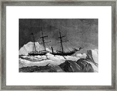 Arctic Exploration Framed Print by Hulton Archive