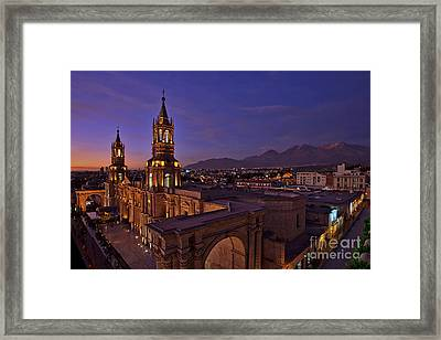 Arequipa Is Peru Best Kept Travel Secret Framed Print