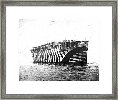 Argus At Rosyth Framed Print by Topical Press Agency
