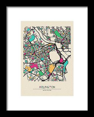 Arlington County Framed Prints