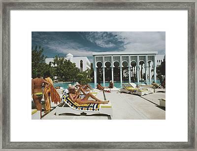 Armandos Beach Club Framed Print
