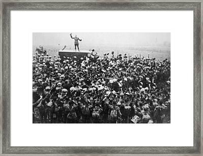 Armistice Framed Print by Archive Photos
