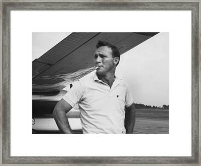 Arnold Palmer Framed Print