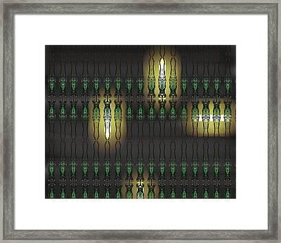 Art Deco Design 15 Framed Print