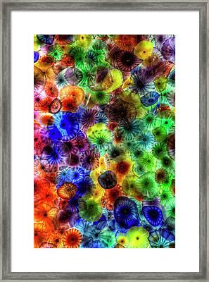 Art From Above Framed Print