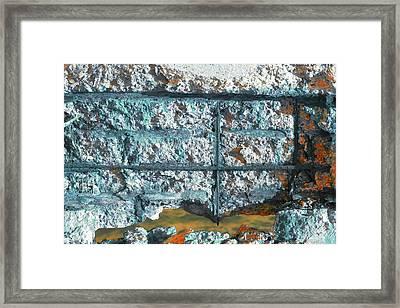 Framed Print featuring the photograph Art Print Abstract 13 by Harry Gruenert