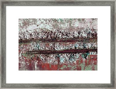 Framed Print featuring the photograph Art Print Abstract 14 by Harry Gruenert