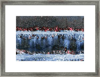 Framed Print featuring the photograph Art Print Abstract 16 by Harry Gruenert