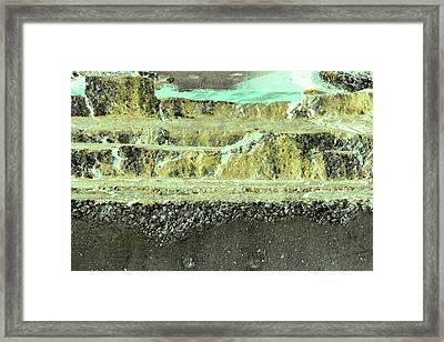 Framed Print featuring the photograph Art Print Abstract 18 by Harry Gruenert