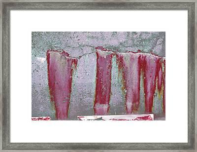 Framed Print featuring the photograph Art Print Abstract 22 by Harry Gruenert