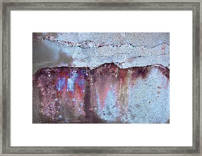 Framed Print featuring the photograph Art Print Abstract 23 by Harry Gruenert