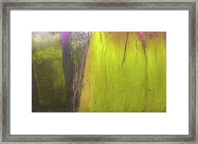 Framed Print featuring the photograph Art Print Abstract 27 by Harry Gruenert