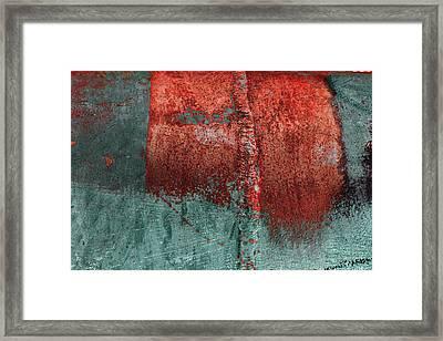 Framed Print featuring the photograph Art Print Abstract 28 by Harry Gruenert