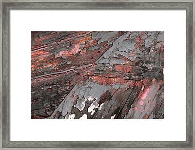 Framed Print featuring the photograph Art Print Patina 52 by Harry Gruenert