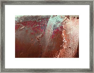 Framed Print featuring the photograph Art Print Patina 53 by Harry Gruenert
