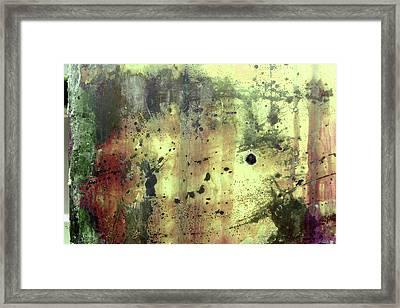 Framed Print featuring the photograph Art Print Patina 54 by Harry Gruenert
