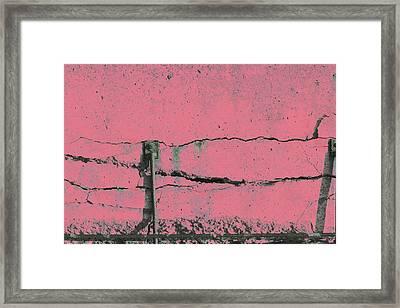 Framed Print featuring the photograph Art Print Walls 50 by Harry Gruenert