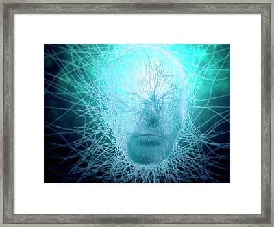 Artificial Intelligence, Conceptual Framed Print by Andrzej Wojcicki