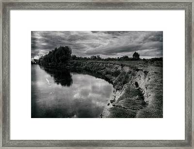 Framed Print featuring the photograph Asperity Of Autumn. Horytsya, 2016. by Andriy Maykovskyi